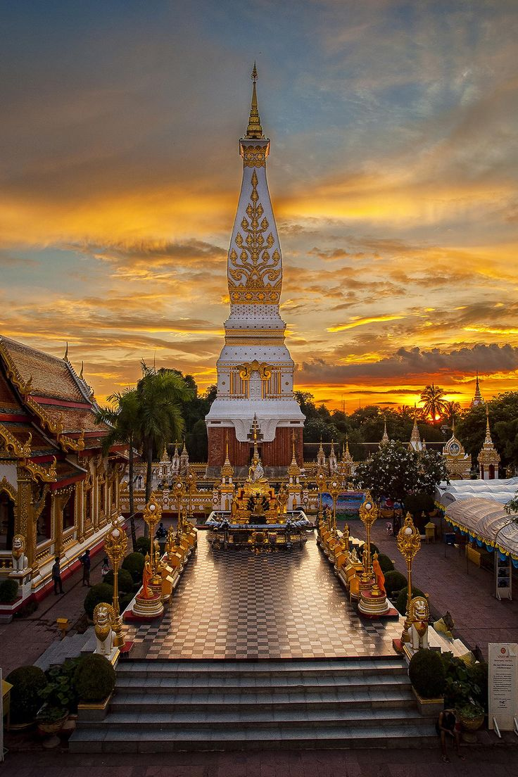Wat Phra That Phanom, Thailand
