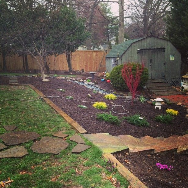 How To Landscape A Backyard On A Budget: 7 Best Images About Front Slope On Pinterest