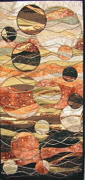 A different bubble quilt - very beautiful in a galactic way.