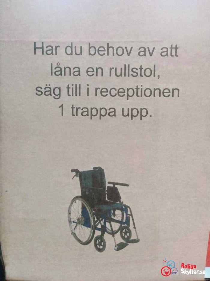 Tanken är god men det känns som de inte riktigt tänkt igenom hela iden. Om man behöver rullstol är det antagligen inte helt lätt att ta sig till andra våningen?