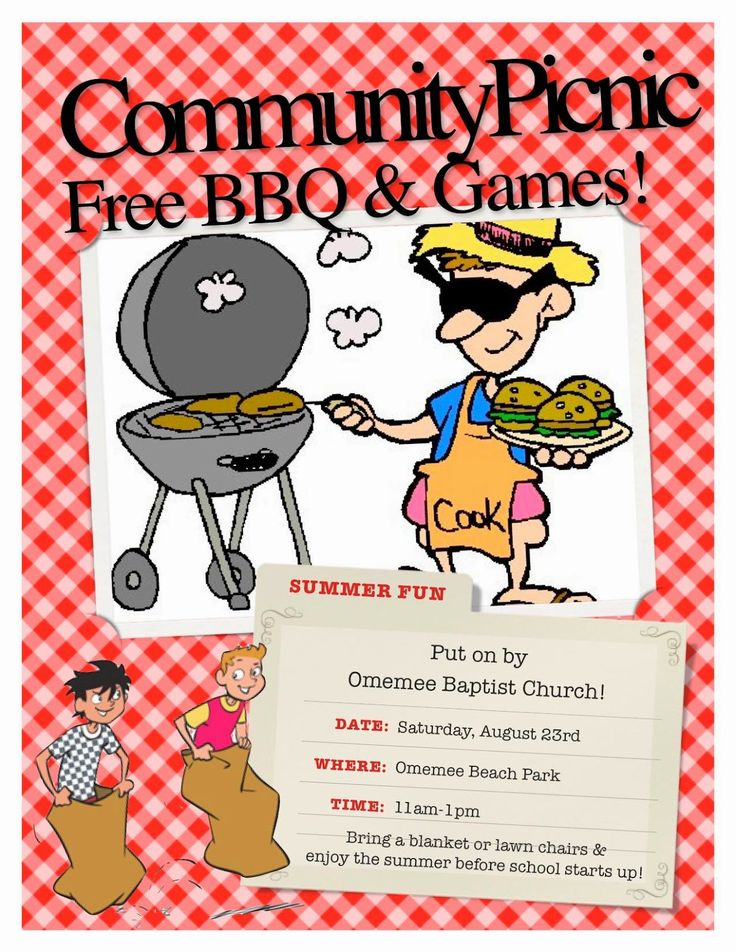 Omemee #Ontario #Baptist #Church welcomes you to join them for Free Family BBQ Fun Aug 2nd!