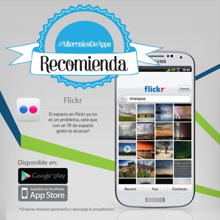 Flickr recargado.