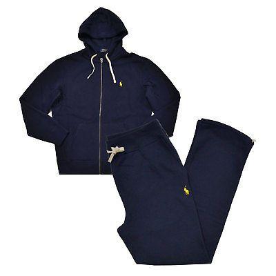 Polo-Ralph-Lauren-Mens-Sweat-Suit-Athletic-Sweats-Zip-Hoodie-And-Pants-Set-Nwt