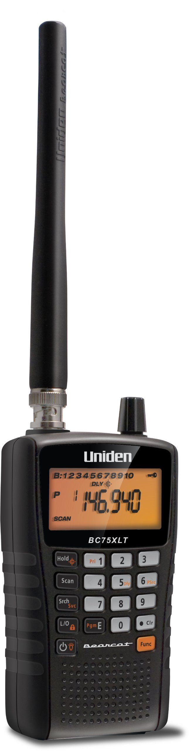 Uniden BC75XLT: Public Safety Scanner, Racing Scanner with 300 Channels