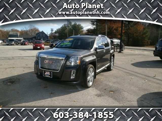Used 2013 GMC Terrain Denali AWD for Sale in Manchester NH 03103 Auto Planet, LLC