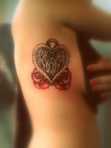 Locket Tattoos for Women | heart locket tattoo ideas heart locket tattoo ideas heart locket