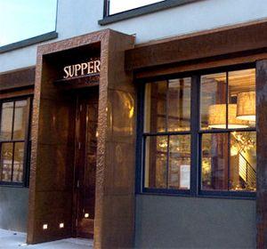 Supper Restaurant on South Street in Philadelphia