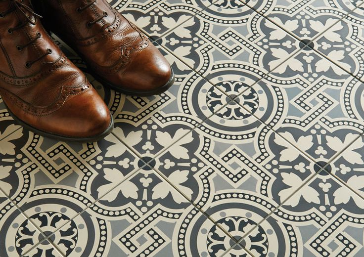 Victorian Floor Tiles - Salisbury Design