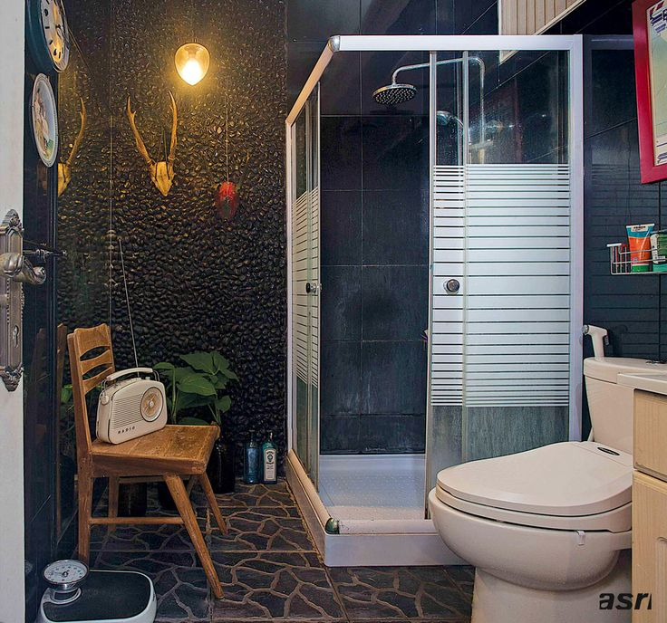 10 Inspirasi Desain Kamar Mandi Mungil Menggunakan Shower | Majalah Griya Asri