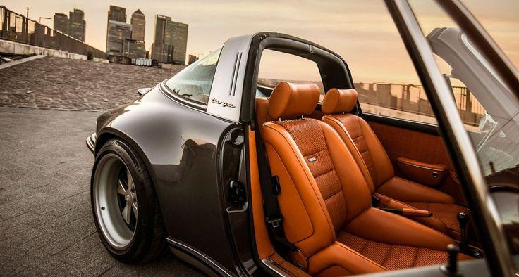 Zuffenhausen, Kalifornien, London – ein weitgereister Singer Porsche an der Themse... | Classic Driver Magazine