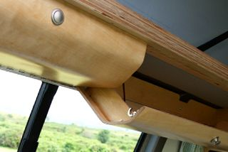 Campervan Features - overhead lockers