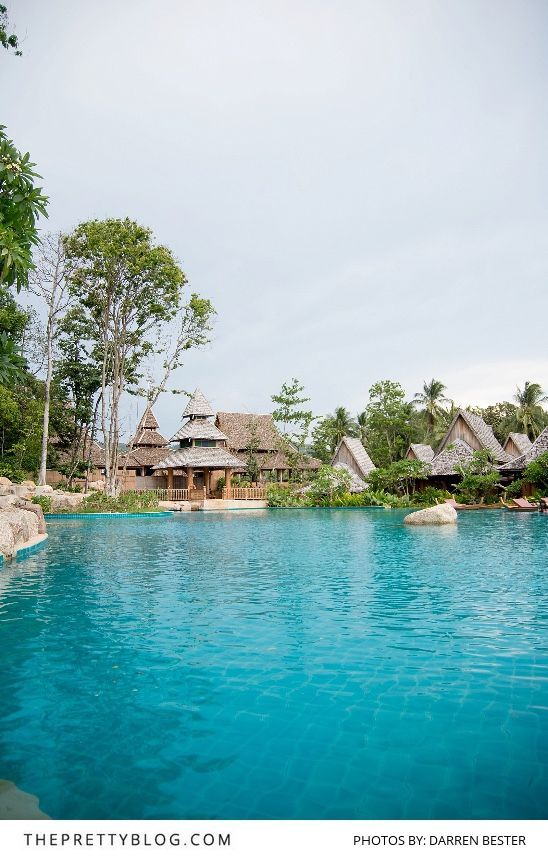 Thailand beach resort with large pool | Photograph by Darren Bester |