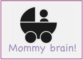 So much mommy brain happening!