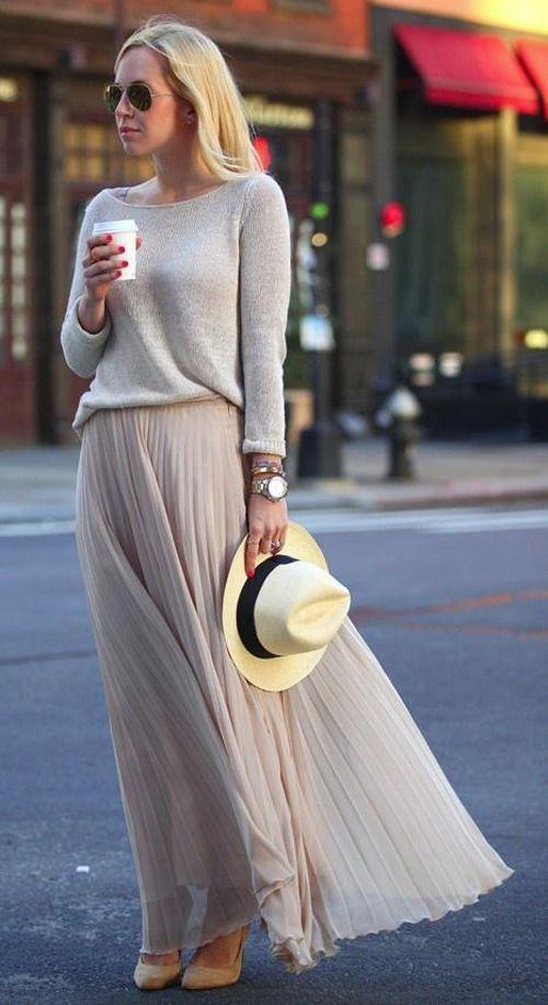 Плиссированная юбка: как сшить и с чем носить?