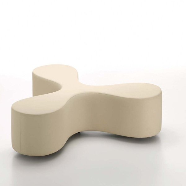 FLOWER BENCH DESIGNED BY SANAA (ALMOND)