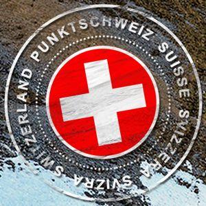 Unser Stempel für die #Schweiz! - Our stamp for #Switzerland! ..Share PunktSchweiz...