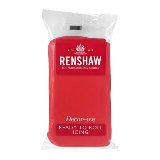RENSHAW RUBY RED ICING - 250G