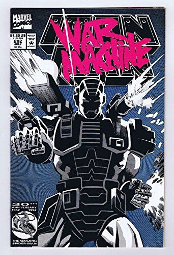 Iron Man #282 Intro/1st App War Machine Very Fine 1992 Complete Marvel Comics @ niftywarehouse.com