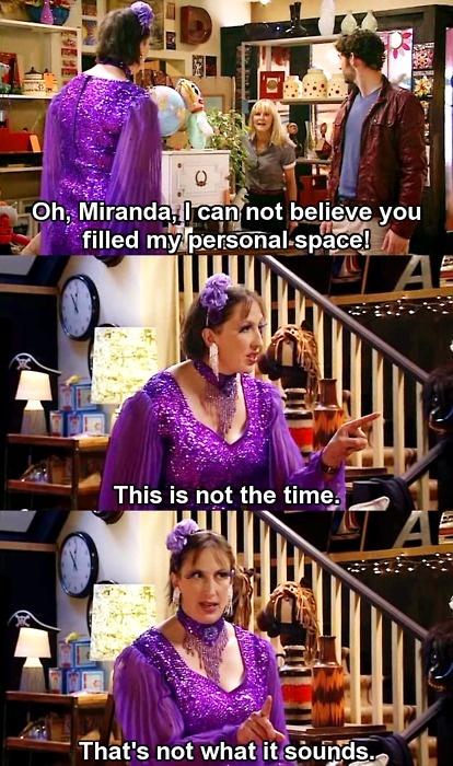 Lol oh Miranda!