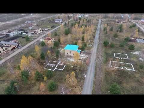Полет над Новыми Салмачами и нашим домом. Строим дом за 90 дней. 87-й день!