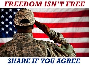 I am forever thankful for our Military....