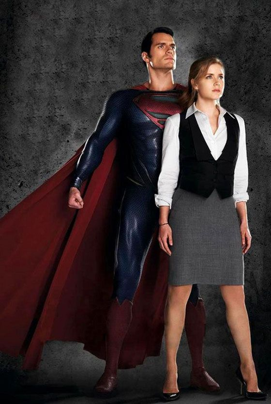 Amy Adam's did the Lois Lane outfit I was going for... for Halloween costumes.