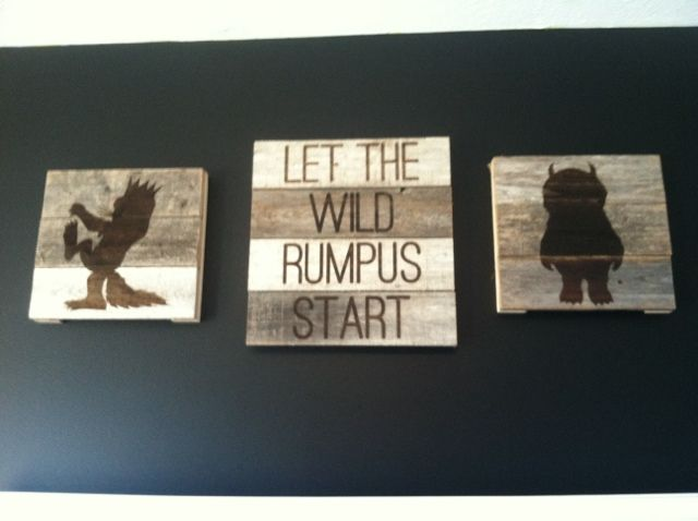 Where the Wild Thing Are  - Nursery decor #nursery