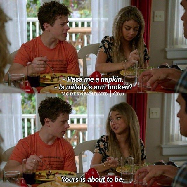 "#ModernFamily 6x01 ""The Long Honeymoon"" - Luke and Haley"