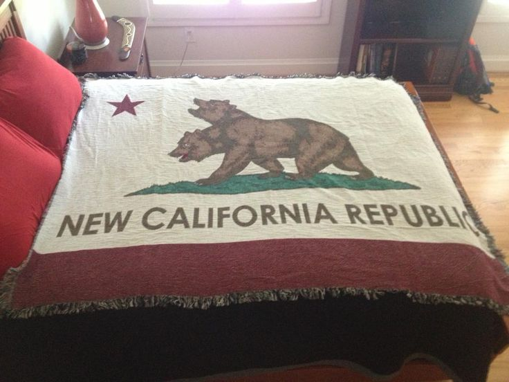 New California Republic Flag #Fallout via Reddit user slendermetembers