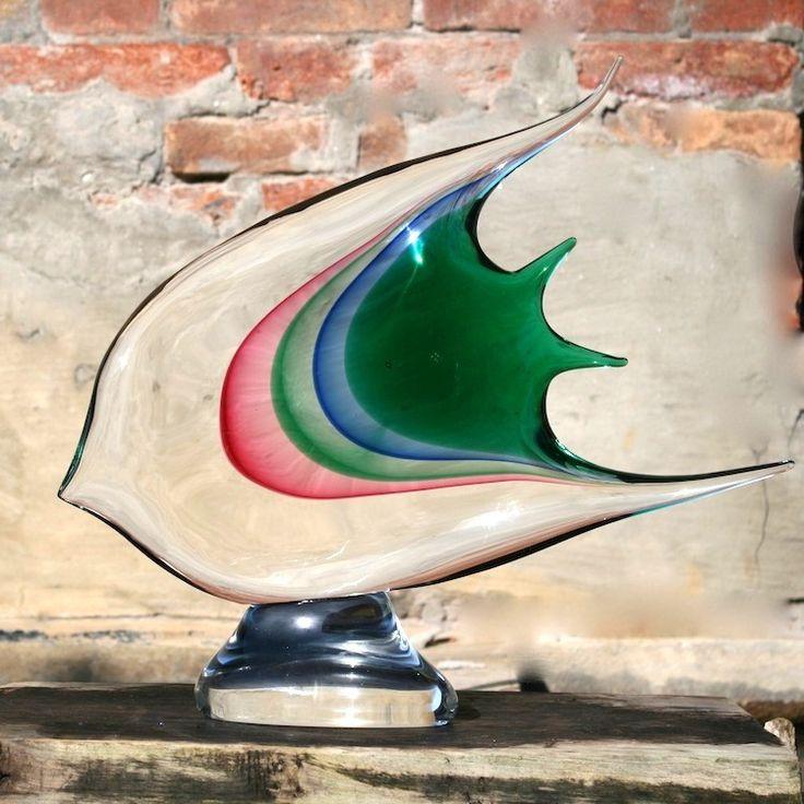 GILL - Murano Glass Fish Sculpture  #muranoglass #muranosculpture #fish #glassfish #yourmurano