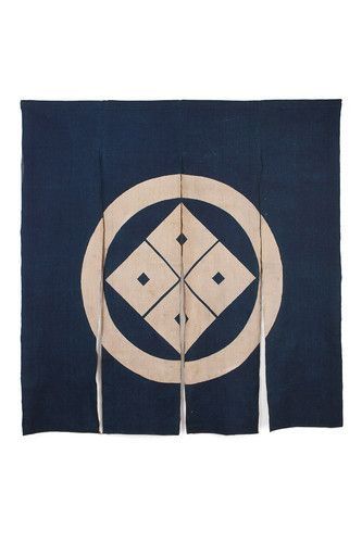 Antique Japanese Indigo Noren Tsutsugaki Shop Curtain Meiji Period | eBay