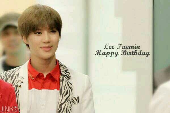 #태민아생일축하해 Happy 21st Birthday to our Taeminie... Have a blast n blessed days ahead.