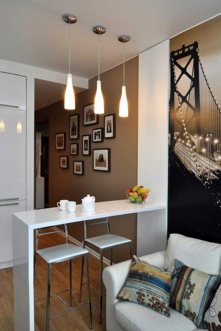 Дизайн квартиры 40 кв. м. 80 фото однокомнатной студии ...