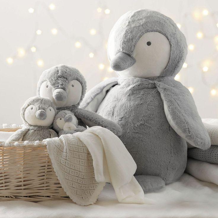 Snowy Penguin Hand Puppet | Little White Company | The White Company #whitechristmaswishlist