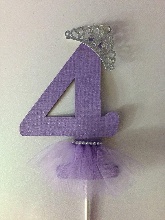 Princess /ballerina cake topper or centerpiece by Fancymycupcake