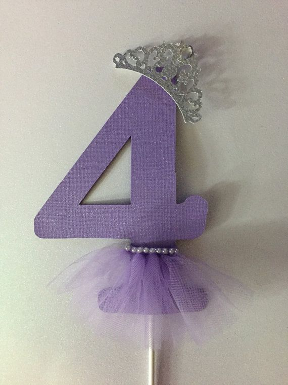 Princess /ballerina cake topper or centerpiece by Fancymycupcake