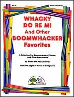 Whacky Do Re Mi And Other Boomwhacker® Favorites.  They LOVE this song...   Sol Mi La Sol -  Mi...  Sol Sol Mi La Sol -  Mi...  Dough... I make my cookies out of dough!  PLAY it!