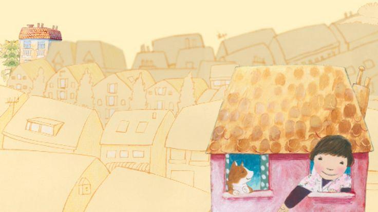 Prentenboekverhaal over het hebben van twee huizen als je ouders gescheiden…