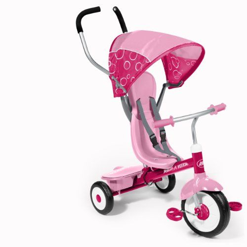 Radio Flyer 4-in-1 Trike, Pink | Multicitytoys.com  List Price: $99.99 Discount: $15.10 Sale Price: $84.89