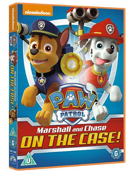 To celebrate the release of  Paw Patrol: Marshall and Chase on the Case we are giving THREE DVD's #Win #Competition