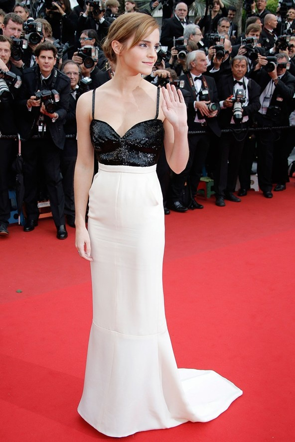 Emma Watson by Chanel Couture  - Cannes 2013