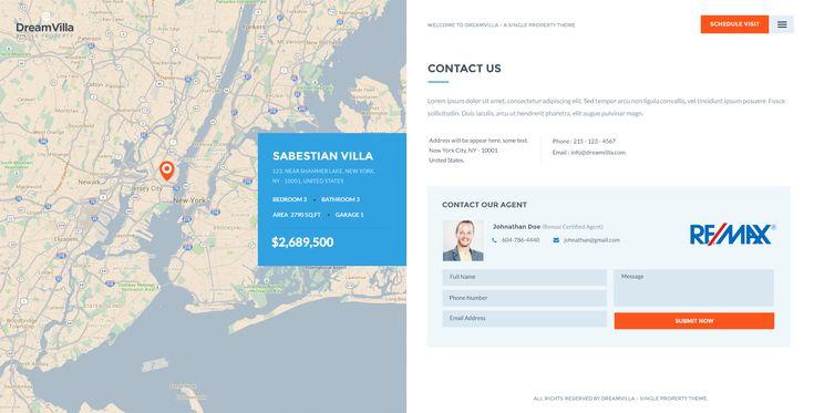 DreamVilla - Single Property HTML Template - Site Templates | ThemeForest