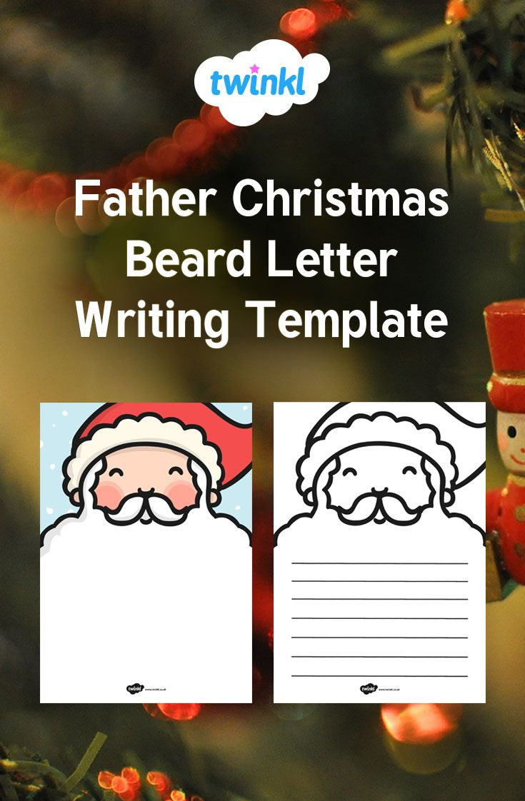 how to format a friendly letter%0A A fantastic aid for your children to use to write their own letters to  Santa