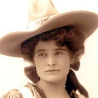 "Lulu Belle Parr, (1876-1955,) an independent and spirited wild west performer thrilled audiences all across the world during her reign as the ""Champion Lady Bucking Horse Rider of the World."" She rode in some of the most famous Wild West shows of the last century."