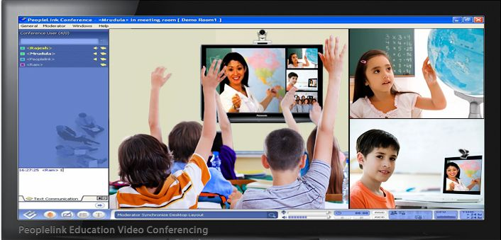 PeopleLink offers the broadest range of education video conferencing solutions to enable all users to connect successfully and conference in any environment. The integrated approach of PeopleLink's software video conferencing solution ensures that users receive a simple, consistent and enriching experience every time they interface with the Unified Collaboration environment.