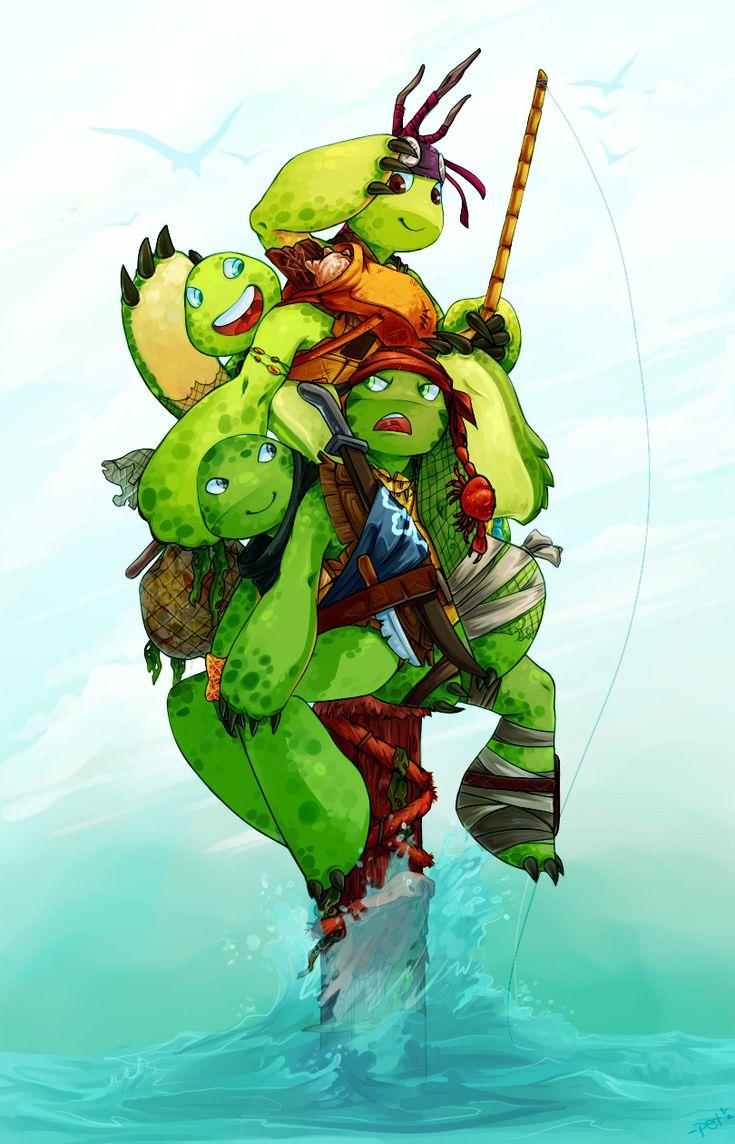 Turtle Warrior by Razzen on DeviantArt