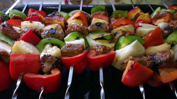 #Turkish Shish #Kebab is always a good idea! LIKE if you're fan of Shish #kebab!