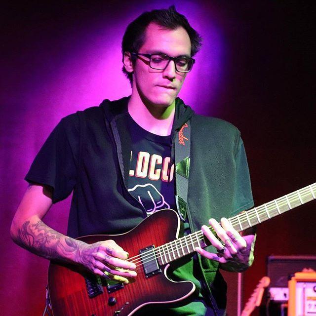Reposting @werenogentlemen: Don't concentrate too hard Rikki, you might bite your lip off😅 📷: @sways_creepy_life . #slidebar #fullerton #werenogentlemen #orangecounty #orangeamps #ltdte406 #esp #music #livemusic #guitar #emgpickups #marshall #friends #tuning #alternative #punk #localmusic #localbands #concert #coldcock #wedgiepicks #band  #guitarist #guitar #supportlocalartists #supportlocalmusic #anaheim #longbeach #losangeles #lipbiting