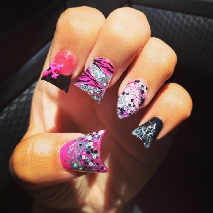 My Nails Are Off The Hook Nails Pinterest