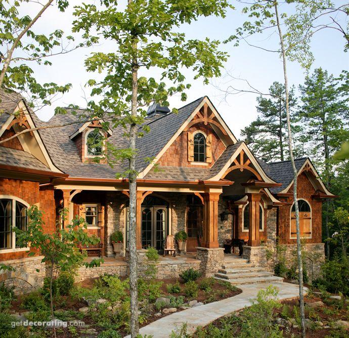 Front View of House, Home Exterior , House Exterior - getdecorating.com